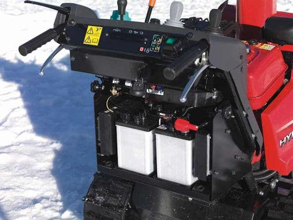 Wartung und Pflege einer Winter-Schneefräse