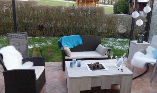 ruhezone im garten. Black Bedroom Furniture Sets. Home Design Ideas