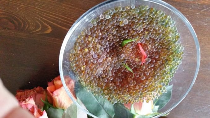 Silicagel, trocknen, Blume, Rose
