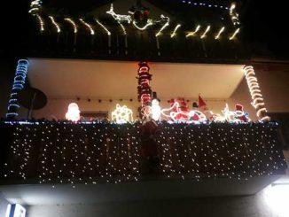 Lichterketten Außenbereich