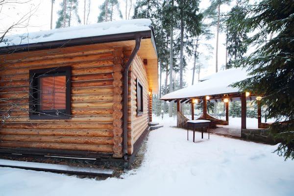 Winterparty im Gartenhaus