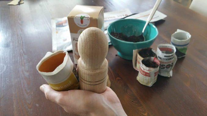 Paper Potter: Aussaattöpfe selbst gemacht