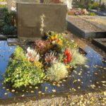 Grabstätte im Herbst bepflanzen