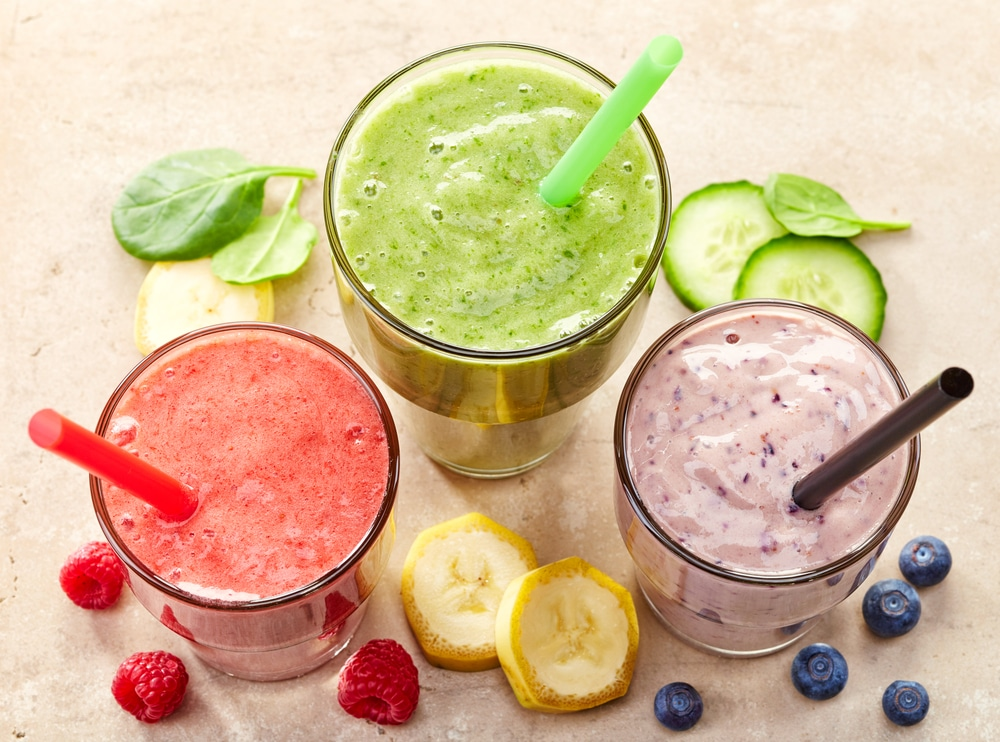 Smoothies, Obst, Obstmix