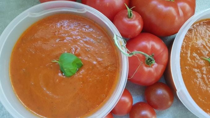 Tomate, Tomaten, Tomatensauce, Gartenzeitung.com