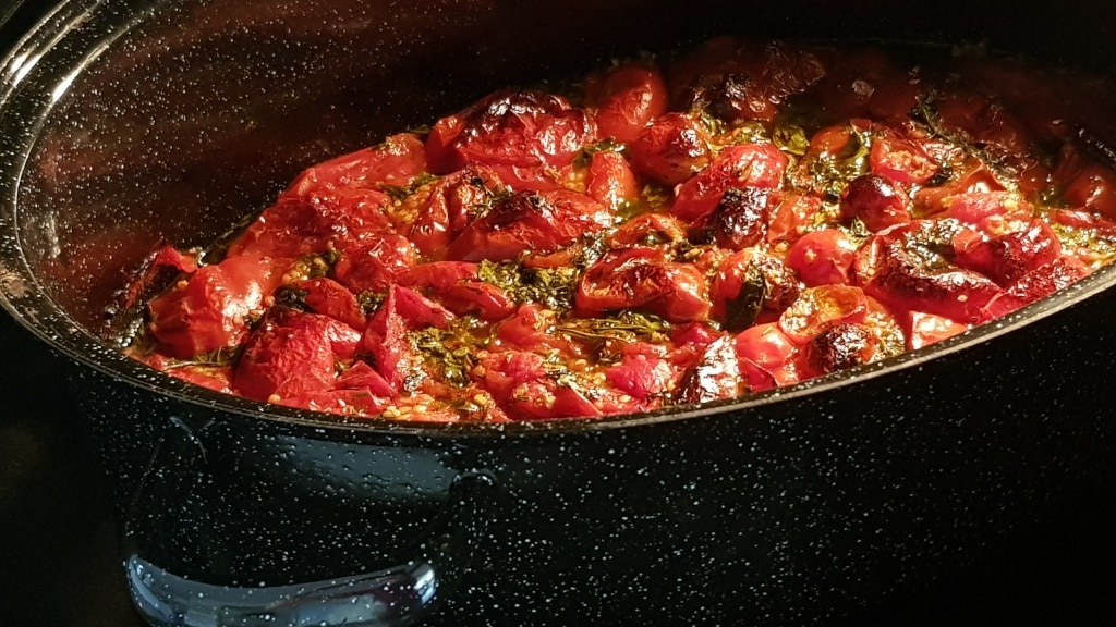 Geröstete Tomaten, Tomate, Sauce