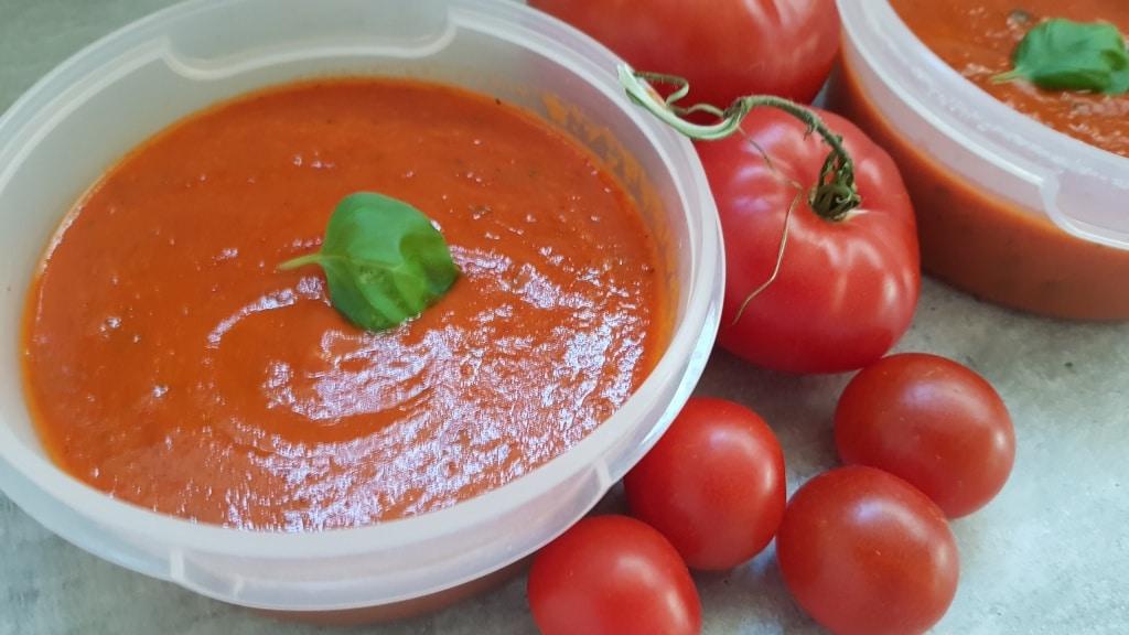 Tomatensauce aus gerösteten Tomaten, Gartenzeitung.com