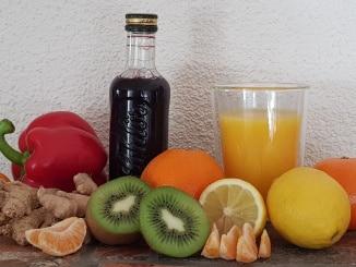 Obst, Gemüse, Gesundheit, Vitamine, Saft, Holler, Gartenzeitung.com