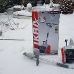 Rezension, Test, Schnee, Schneefräse, Ikra, Gartenzeitung.com