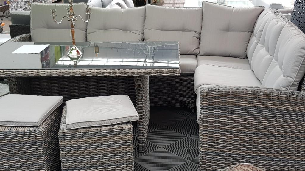 Polyrattan, Sitz, Möbel, Lounge, Gartenzeitung.com
